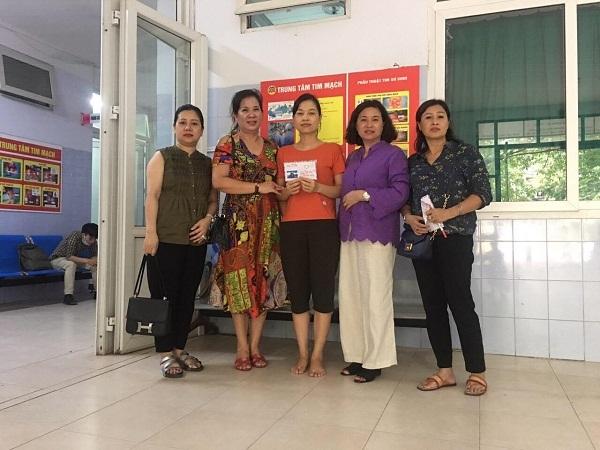 Bé Nguyễn Diệu Linh đã được xuất viện về nhà sau khi phẫu thuật tim thành công