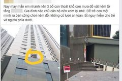 Vỡ mộng ở chung cư: Phóng uế trong thang máy, ném đồ rơi tự do