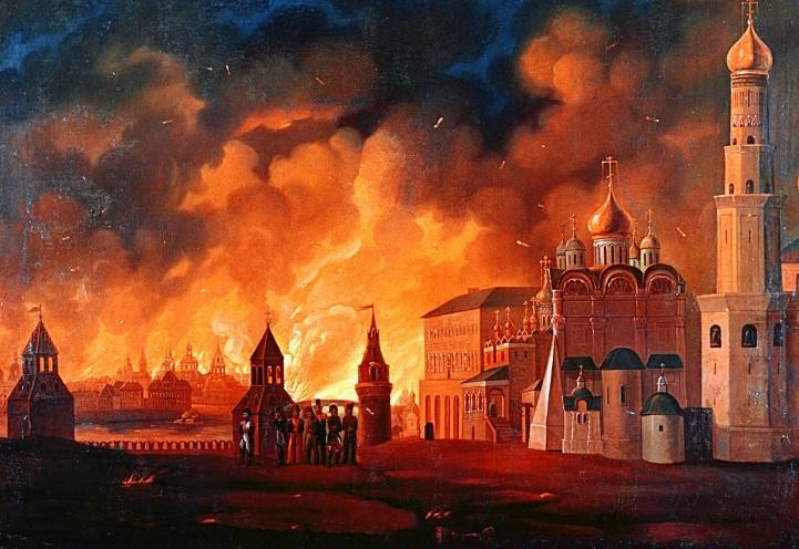 Napoleon,cung điện Kremlin,đại đế Napoleon,thất bại của Napoleon,đội quân Grande Armée