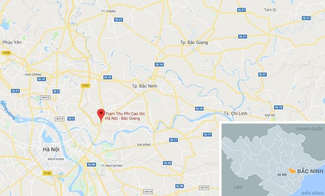 cao tốc Hà Nội - Bắc Giang,trạm thu phí,BOT,trạm BOT,trạm thu phí BOT