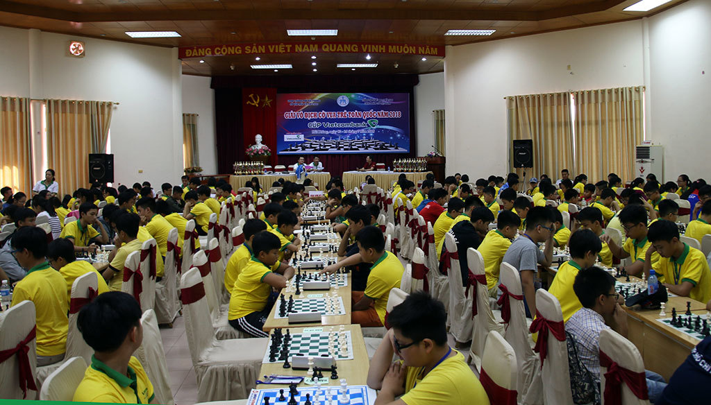 Giải cờ vua trẻ toàn quốc 2019: Hơn 1 nghìn kỳ thủ tham dự