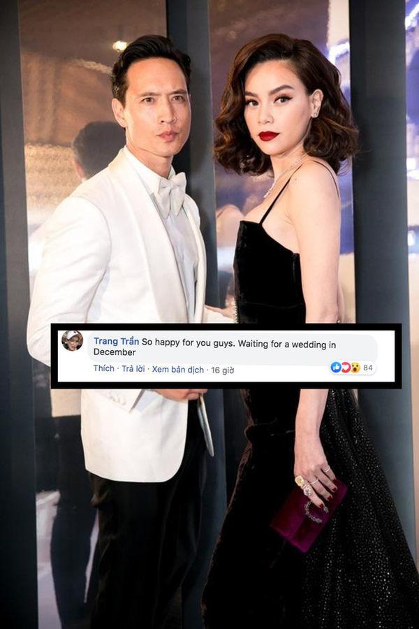 Rộ tin đồn Hà Hồ và Kim Lý chuẩn bị làm đám cưới