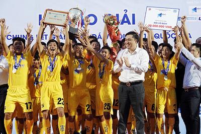 U15 SLNA bảo vệ thành công ngôi vô địch U15 quốc gia