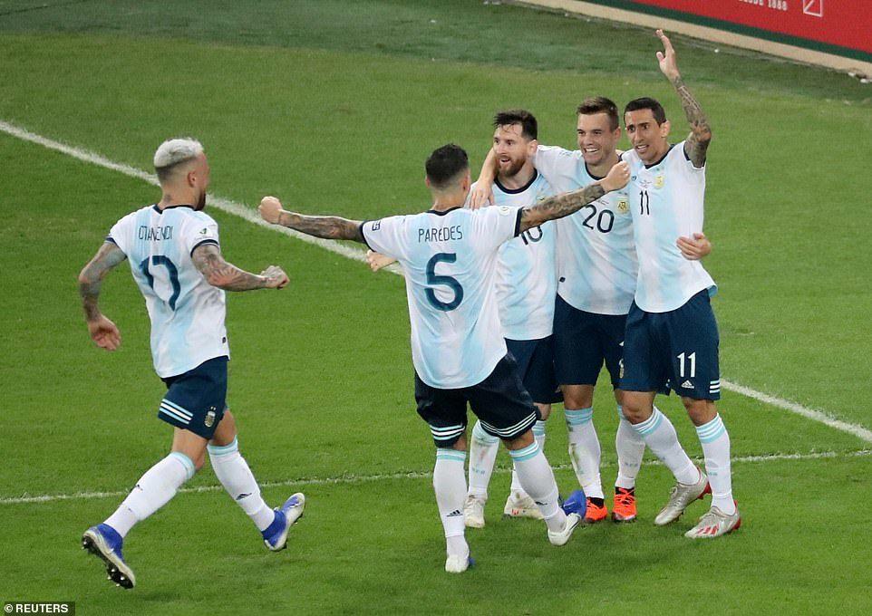 Venezuela vs Argentina,Messi