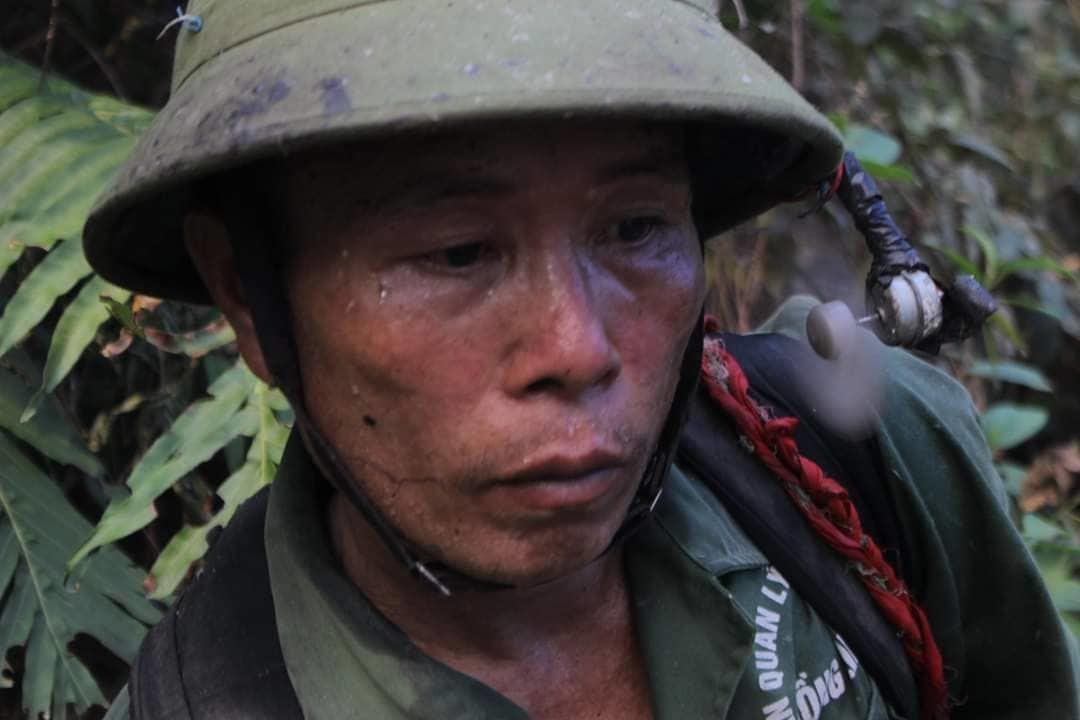 20 tiếng dầm mình trong biển lửa cứu rừng ngùn ngụt cháy ở Hà Tĩnh