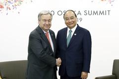 Thủ tướng hội kiến với nhiều nguyên thủ, lãnh đạo tổ chức quốc tế