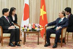 Thủ tướng tiếp các Hội hữu nghị Nhật - Việt vùng Kansai và TP Sakai