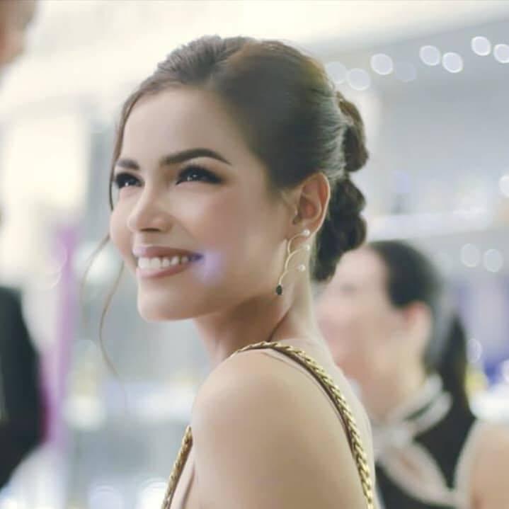 Nữ DJ cao 1,81m giành vương miện Hoa hậu Hoàn vũ Thái Lan 2019