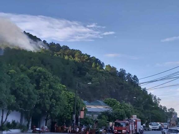 cháy rừng,cắt điện,nắng nóng,Hà Tĩnh