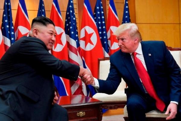 Lãnh đạo Mỹ -Triều tổ chức hội đàm kín tại vùng phi quân sự