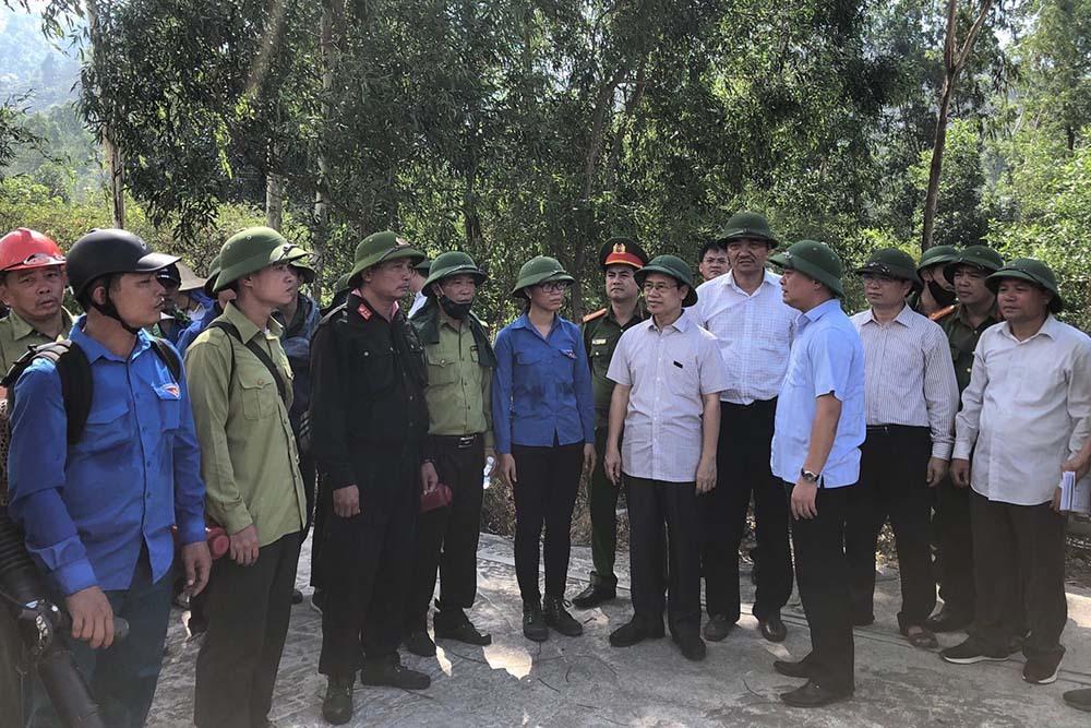 Một phụ nữ ở Nghệ An tử vong khi chữa cháy rừng