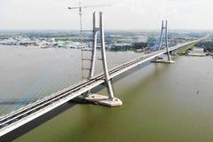 Đường dẫn cầu Vàm Cống 270 triệu USD rạn nứt, nhà thầu Hàn Quốc phải khắc phục
