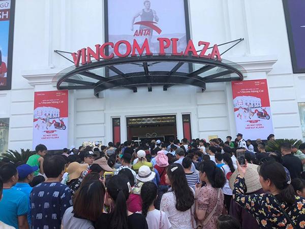 Hàng loạt trải nghiệm hàng đầu ở Vincom đầu tiên của Móng Cái