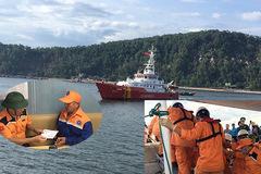 Chìm tàu cá ở Bạch Long Vĩ: Bàn giao 2 thuyền viên và 1 thi thể