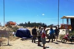 Dân phản đối doanh nghiệp xây khu du lịch trên đường dân sinh