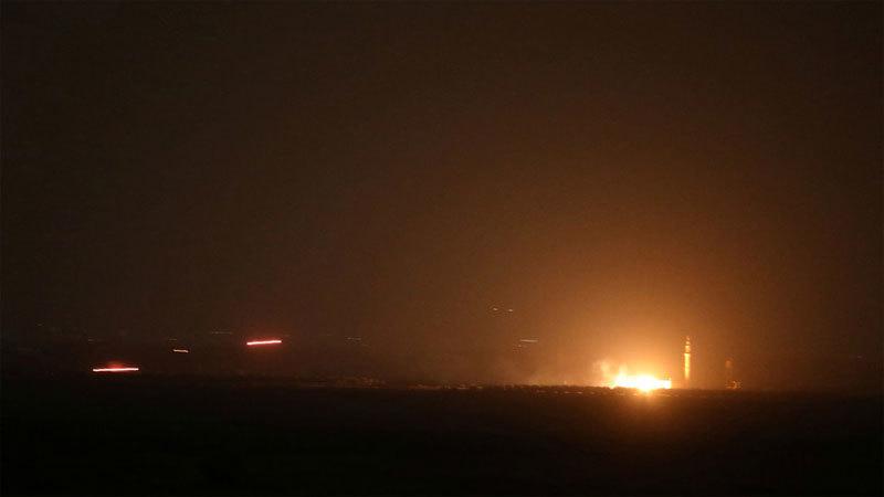 Syria bắn chặn 'nhiều tên lửa Israel'