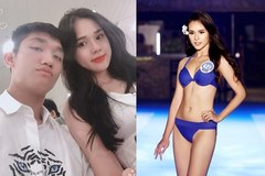 Bạn gái cầu thủ Trọng Đại 6 lần thi Hoa hậu để 'kiếm nhiều tiền như Phạm Hương'