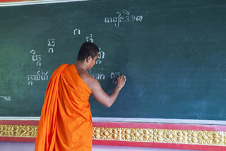 Khmer monks open summer class