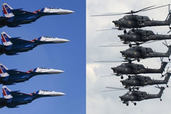 Thót tim cảnh chiến cơ Nga nhào lộn rơi tự do