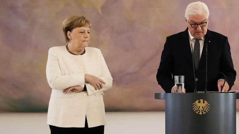 Thủ tướng Đức,Angela Merkel,run rẩy,tình báo
