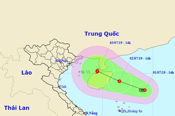 Áp thấp nhiệt đới trên biển Đông, khả năng mạnh thành bão giật cấp 11