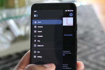 Cách vuốt để mở trình đơn bên trái hoặc bên phải trên Android 10