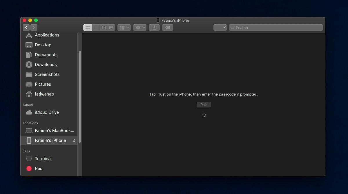 Làm sao để sao lưu iPhone trên macOS Catalina khi không có iTunes?
