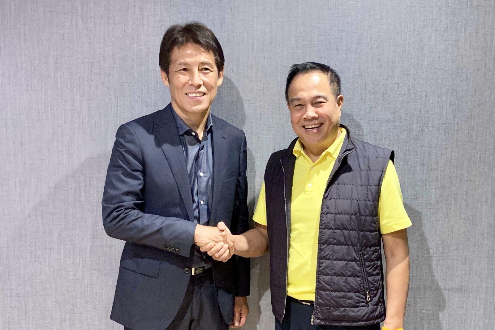 Tuyển Thái Lan,U23 Thái Lan,Akira Nishino,tuyển Việt Nam