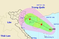 Áp thấp có thể mạnh thành bão, hướng Quảng Ninh đến Nam Định