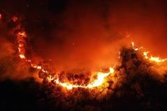 Lửa cháy Hồng Lĩnh, lửa đốt lòng ta
