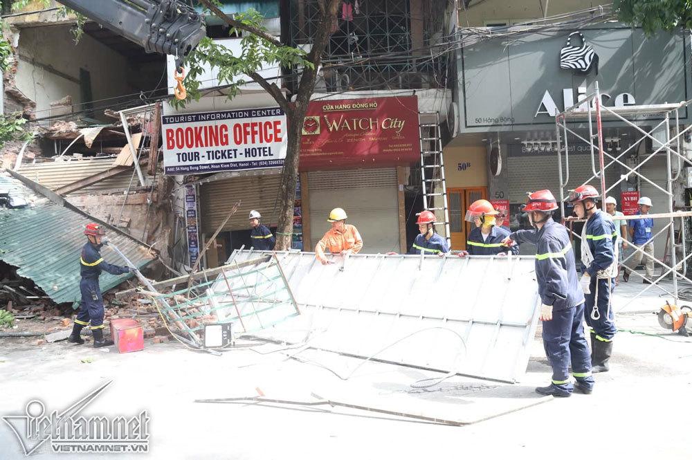 sập nhà,Hà Nội