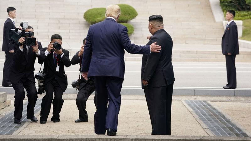 'Vật thể lạ' xuất hiện ở Vùng phi quân sự sau cuộc gặp Trump-Kim