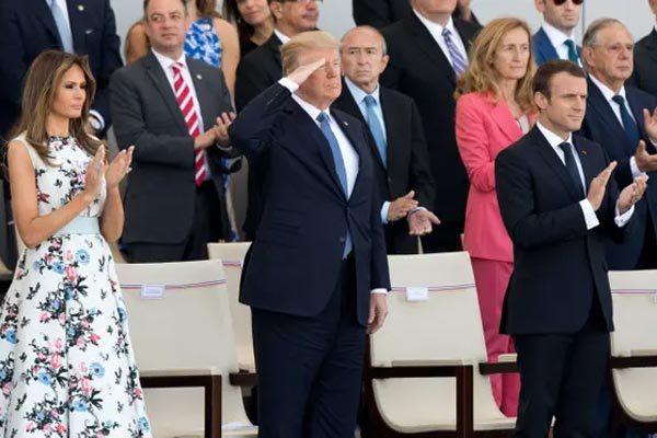 Ông Trump 'phá lệ' ngày Độc lập