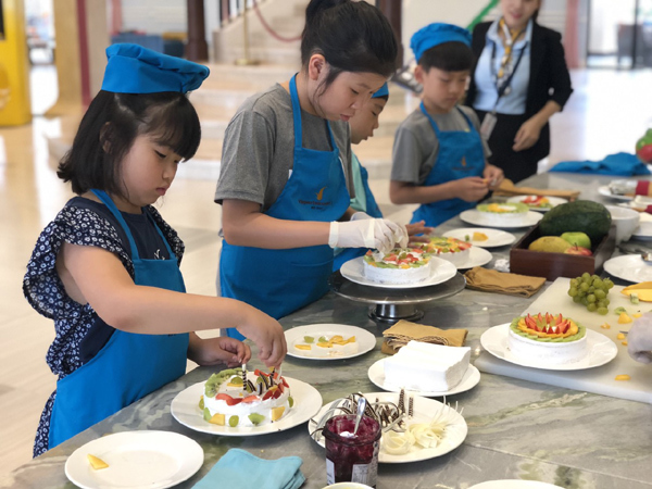 Trẻ học kĩ năng sống 'chuẩn' quốc tế ở Vinpearl