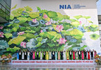 Murals at Noi Bai Int'l Airport win world design award