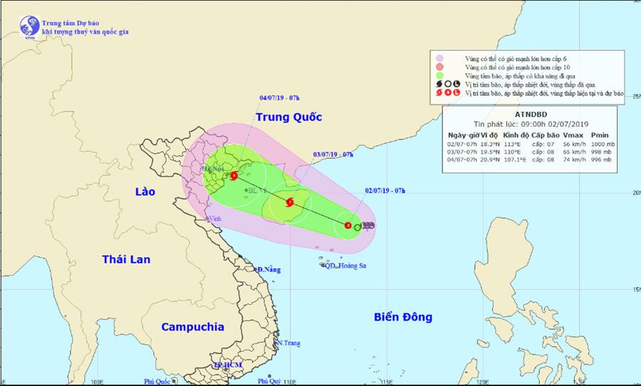 tin thời tiết,dự báo thời tiết,thời tiết,tin bão,áp thấp nhiệt đới