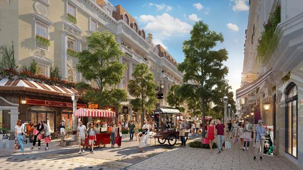 Sun Plaza Grand World - Shophouse Europe hấp dẫn giới địa ốc Hà Nội