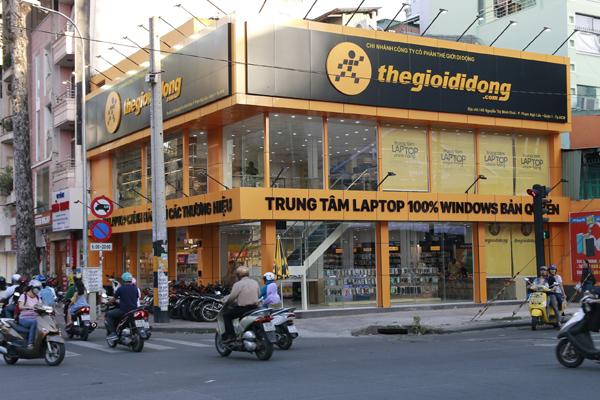 Cửa hàng laptop quy tụ gần 200 model của Thế Giới Di Động