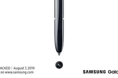Galaxy Note 10 sẽ ra mắt vào tháng 8