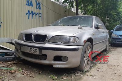 Hà Nội: BMW bị vứt xó bốc mùi khai thối đã được chuyển đi