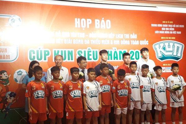 Duy Mạnh, Đức Huy, Văn Hậu hâm nóng giải U11 & U13 toàn quốc