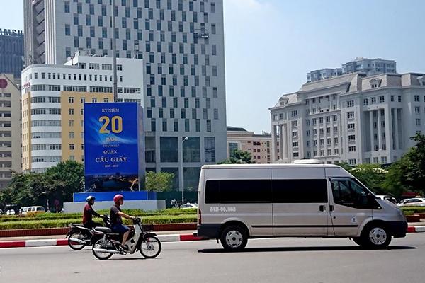 Hà Nội sẽ điều chỉnh địa giới 3 quận Cầu Giấy, Bắc Từ Liêm, Nam Từ Liêm