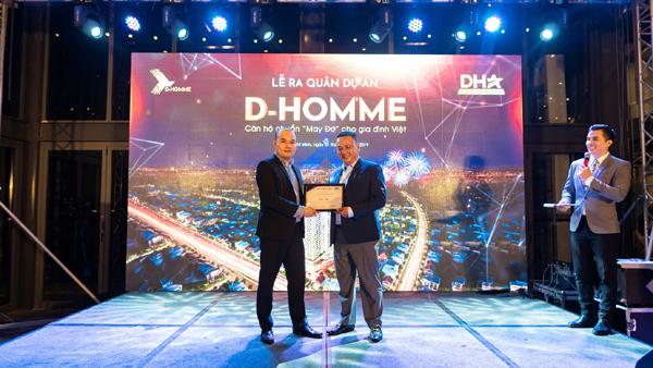 Phúc Hưng Group được 'chọn mặt gửi vàng' tại dự án D-Homme