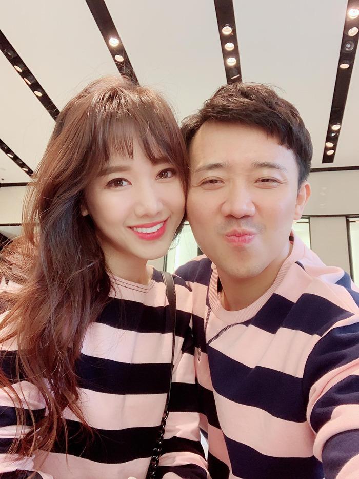 Hari Won cảm động vì Trấn Thành chuyển tiền giúp ân nhân gia đình vợ