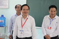 """Bộ trưởng Nhạ: """"Giám sát thường xuyên việc chấm thi của Hà Giang"""""""