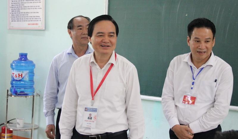 Bộ trưởng Nhạ: 'Giám sát thường xuyên việc chấm thi của Hà Giang'