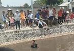 Hai bé trai đi xe đạp rơi xuống sông tử vong ở Nam Định