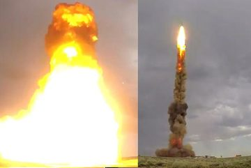 Xem Nga khai hỏa tên lửa mới bắn chặn cực mạnh