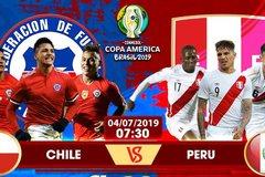 Xem trực tiếp bán kết Copa Chile vs Peru ở kênh nào?