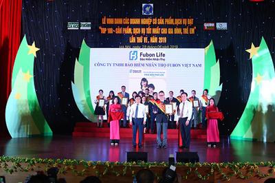 Fubon Life Việt Nam - Doanh nghiệp Vàng vì gia đình Việt